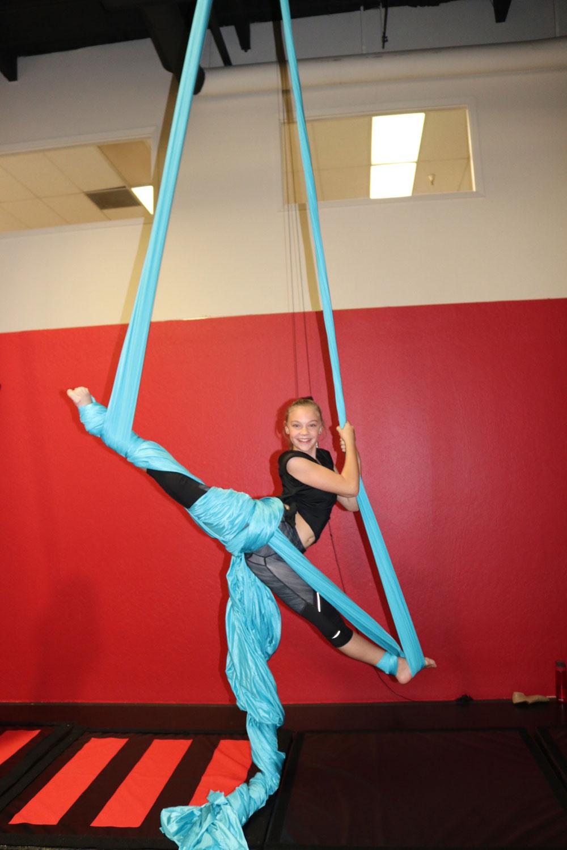Introducing Aerial Silks Forever Dance Nevada