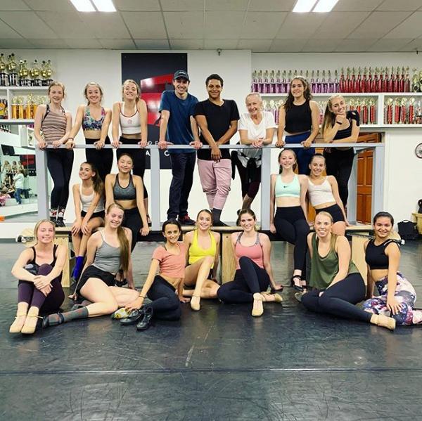 Forever Dance team dance
