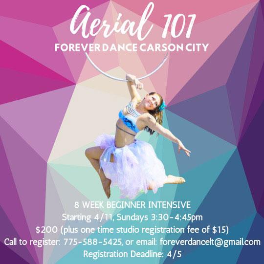 aerial silks 101 class carson city