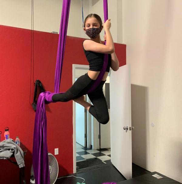 aerial silks forever dance 2021 summer session